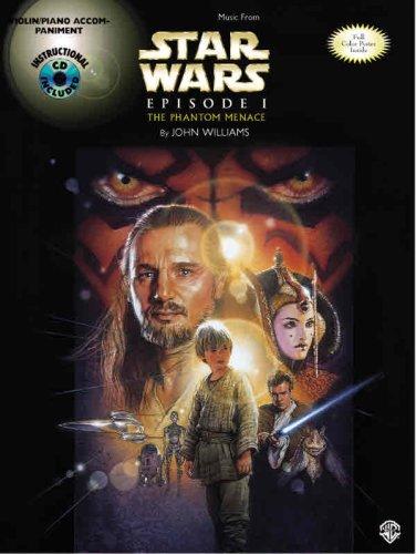 9780769284620: Music From Star Wars, Episode I: The Phantom Menace - Violin / Piano Accompaniment (Star Wars Instrumental Series) (Book & CD)