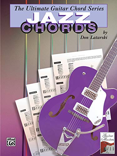 9780769285252: Ultimate Guitar Chords: Jazz Chords (Ultimate guitar chord series)