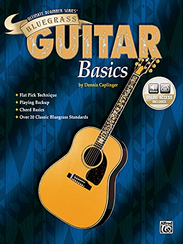 9780769285399: Ultimate Beginner Bluegrass Guitar Basics (Book & CD)