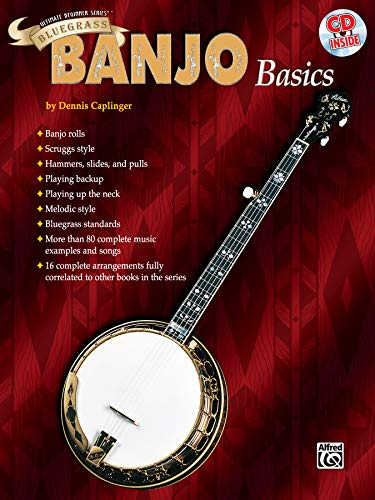 9780769285443: Ultimate Beginner Bluegrass Banjo Basics: Book & CD (The Ultimate Beginner Series)