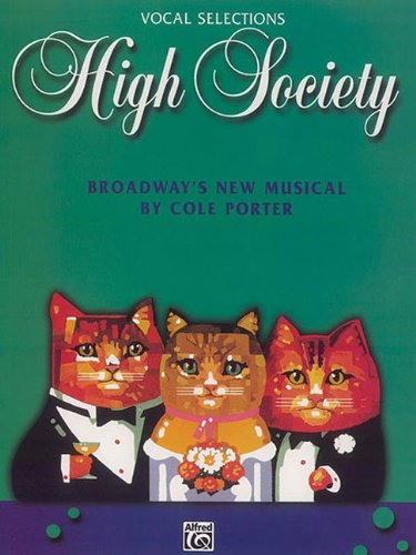 9780769285764: High Society: Vocal Selections Piano Vocal Book