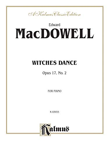 Witches Dance, Op. 17, No. 2 (Kalmus Edition): Alfred Music