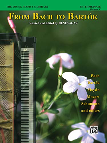 9780769289632: The Young Pianist's Library, 1C: From Bach to Bartok