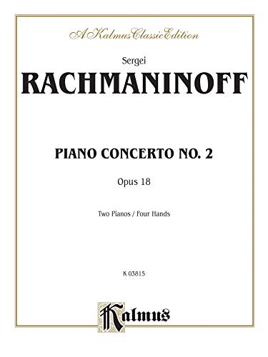 9780769289663: Piano Concerto No. 2 in C Minor, Op. 18 (Kalmus Edition)