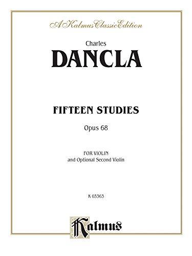 9780769290027: Fifteen Studies, Op. 68 (Kalmus Edition)
