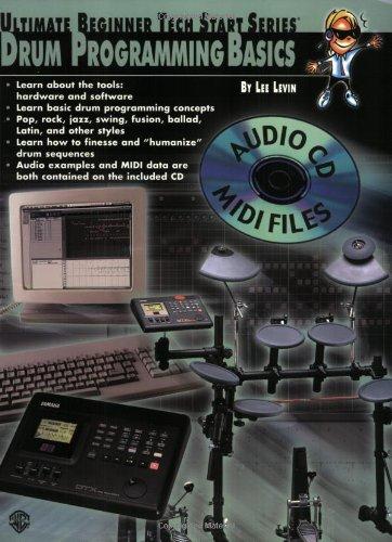 9780769290546: Ultimate Beginner Tech Start Series: Drum Programming Basics +CD-ROM (Ultmiate beginnner tech start)