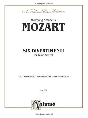Six Divertimenti (Kalmus Edition): Alfred Music