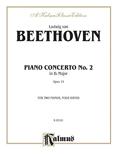 9780769290799: Piano Concerto No. 2 in B-flat, Op. 19 (Kalmus Edition)
