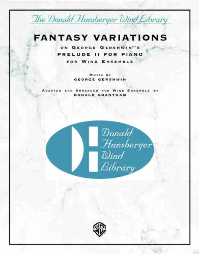 Fantasy Variations (on George Gershwin s Prelude II for Piano) (Paperback)