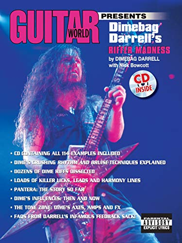 9780769291017: Guitar World Presents Dimebag Darrell's Riffer Madness: Book & CD
