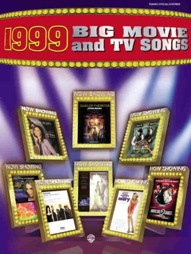 1999 Big Movie and TV Songs: Warner Bros. Entertainment Staff