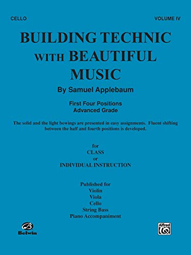 9780769291536: Building Technic With Beautiful Music, Bk 4: Cello