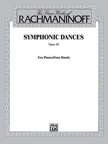 9780769291840: Symphonic Dances, Op. 45 (Belwin Edition)