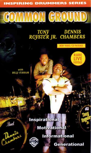 9780769291963: Common Ground -- Inspiration (Video & CD) (Inspiring Drummers Series)