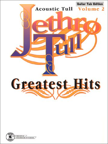 Jethro Tull -- Greatest Hits, Vol 2: Acoustic Tull (Guitar/TAB): Jethro Tull