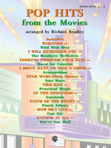 Pop Hits from the Movies (0769292100) by Richard Bradley