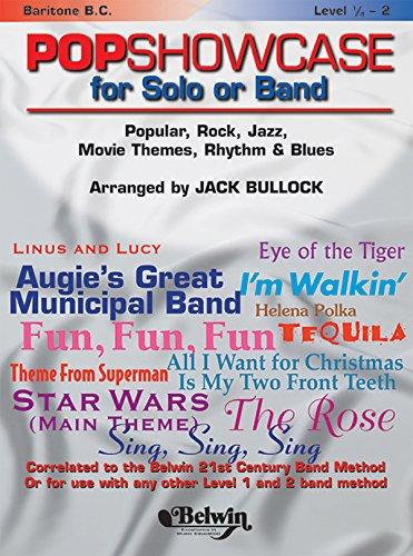 9780769292878: PopShowcase for Solo or Band: Baritone B.C. (Belwin 21st Century Band Method)
