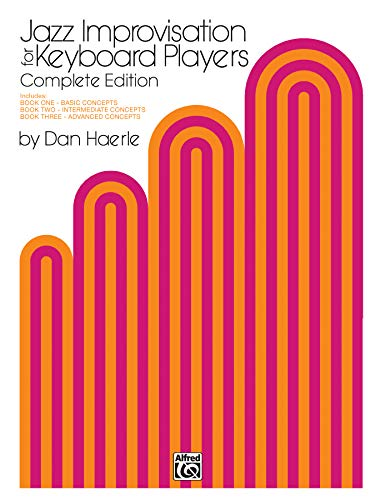 9780769294162: Jazz Improvisation for Keyboard Players: Complete Edition
