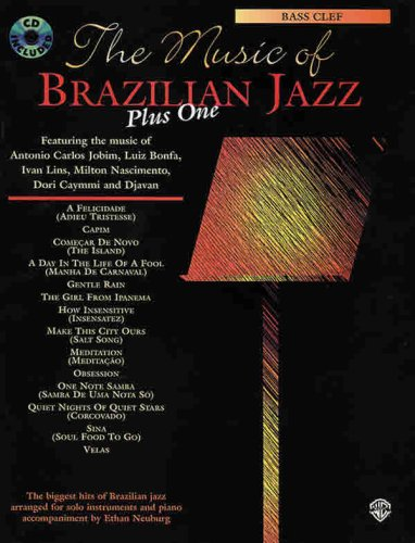 9780769294506: The Music of Brazilian Jazz Plus One: Bass Clef (Book & CD)
