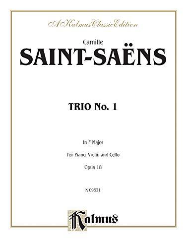 9780769294759: Trio No. 1, Op. 18: Piano, Violin, & Cello (Kalmus Edition)