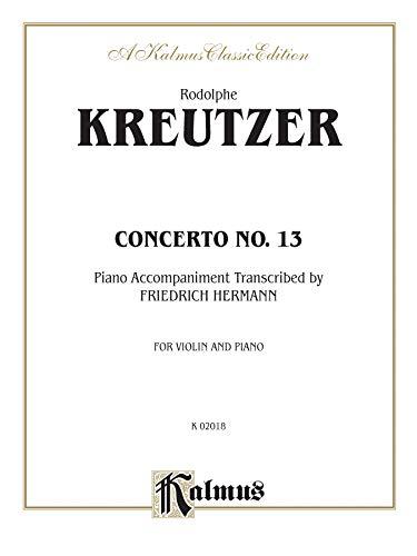9780769294803: Concerto No. 13