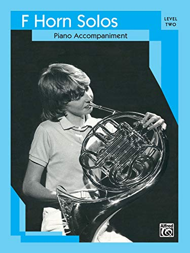 9780769295817: French Horn Solos: Level II Piano Acc
