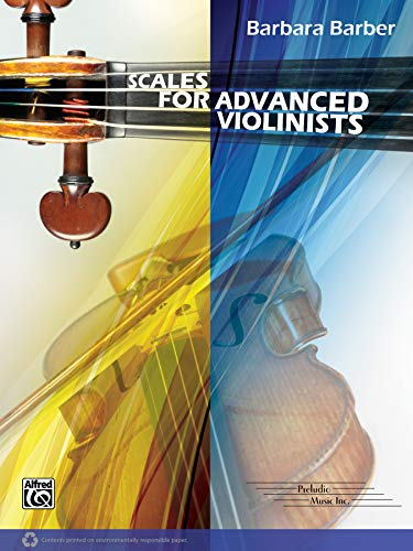 9780769296036: Scales for Advanced Violinists