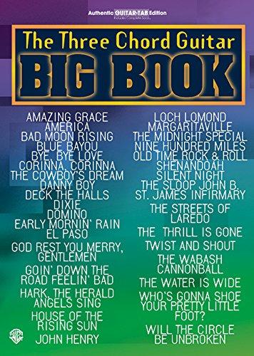 The Three Chord Guitar Big Book Format: Book