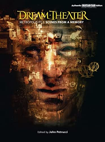 9780769296524: Dream Theater - Metropolis Part 2 - Scenes from a Memory (Authentic Guitar-Tab)