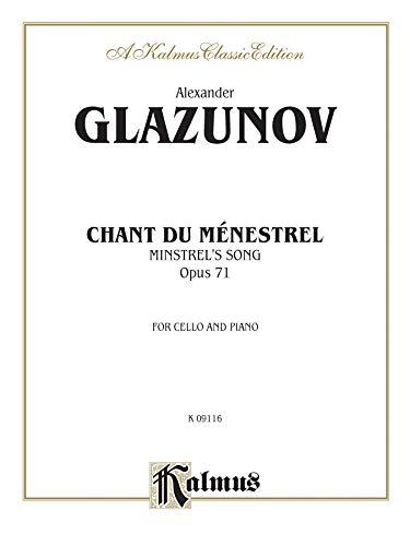 Chant du Menstrel, Op. 71 (Kalmus Edition)