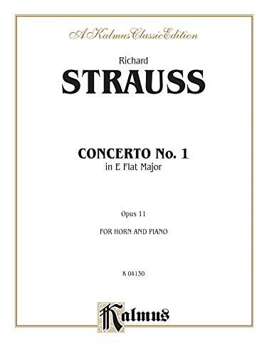 9780769297576: Horn Concerto No. 1, Op. 11 in E-Flat Major (Orch.) (Kalmus Edition)