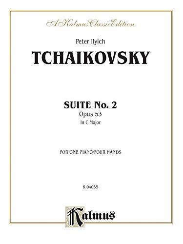 9780769297736: Suite No. 2 in C Major, Op. 53 (Kalmus Edition)