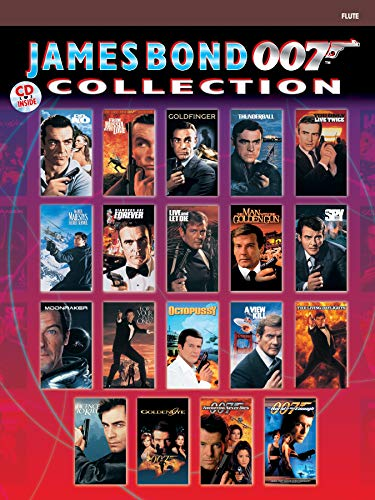 9780769299136: James Bond 007 Collection: Flute, Book & CD