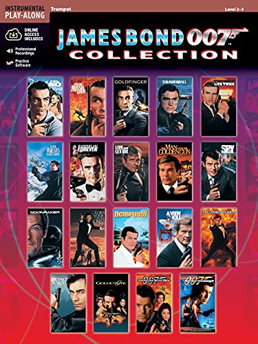 9780769299143: James Bond 007 Collection: Trumpet, Book & CD