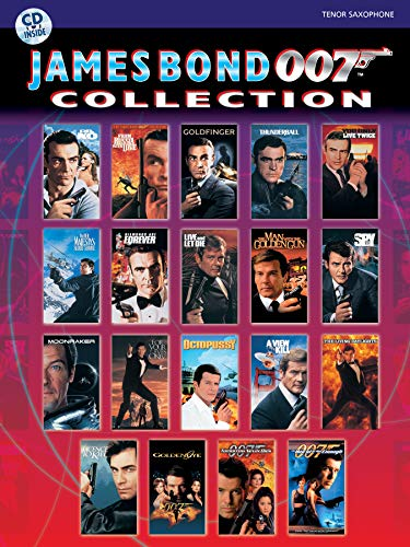 9780769299167: James Bond Collection: Tenor Sax (James Bond 007 Collection)