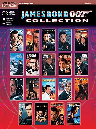 9780769299174: James Bond 007 Collection: Alto Sax