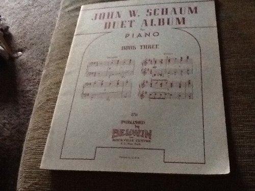 9780769299303: Duet Album, Bk 3 (Schaum Method Supplement)