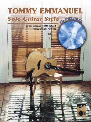 Tommy Emmanuel -- Solo Guitar Style (Book & CD) (0769299342) by Tommy Emmanuel