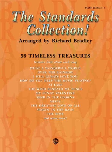 The Standards Collection: 56 Timeless Treasures, Piano Level 3-4