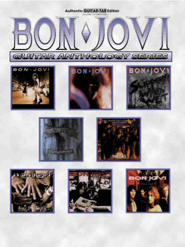 9780769299969: Bon Jovi -- Guitar Anthology: Authentic Guitar TAB (Guitar Anthology Series)