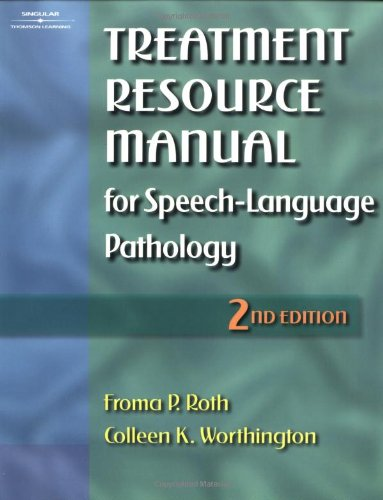9780769300184: Treatment Resource Manual for Speech-Language Pathology