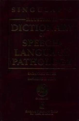 9780769300689: Singular's Illustrated Dictionary of Speech-Language Pathology (Book with CD-ROM)