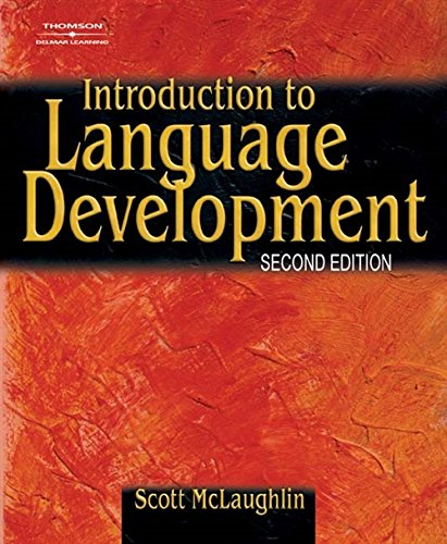 9780769302652: Introduction to Language Development