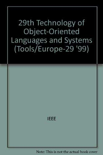 9780769502755: Tools 29: Technology of Object-Oriented Languages and Systems