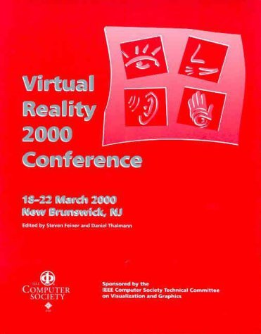 9780769504780: IEEE Virtual Reality 2000: Proceedings 18-22 March 2000 New Brunswick, New Jersey