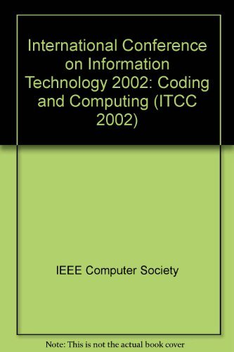 9780769515069: Information Technology: Coding and Computing (Itcc 2002), 2002 International Conference