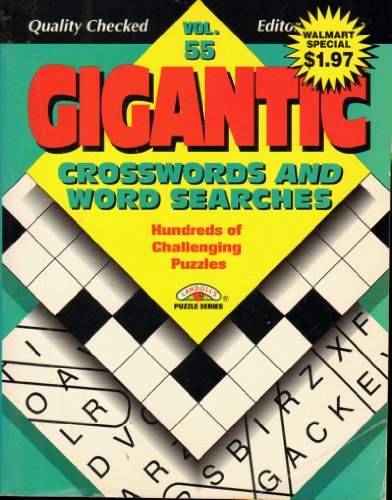 9780769613109: Gigantic Crossword and Word Searches: Vol 59