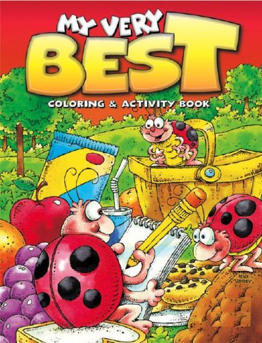 9780769627861: My Very Best Ladybug Coloring & Activity Book: Ladybug Picnic (My Very Best Coloring & Activity Books)