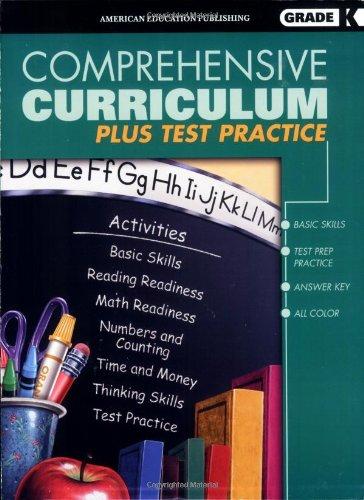 9780769629001: Comprehensive Curriculum Plus Test Practice, Kindergarten