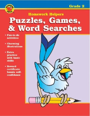 Puzzles, Games, & Word Searches, Grade 2: School Specialty Publishing; Douglas, Vincent